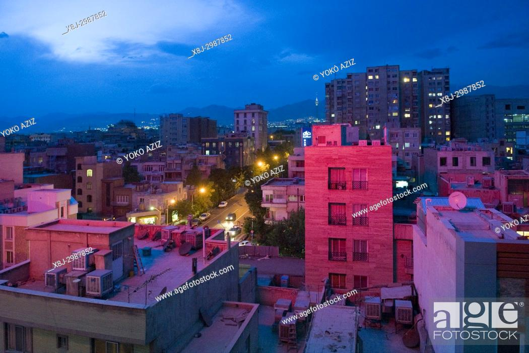 Stock Photo: Iran, Tehran, landscape.
