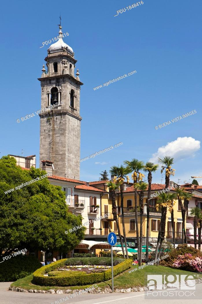 Stock Photo: Pallanza is a lovely village on Lake Maggiore.