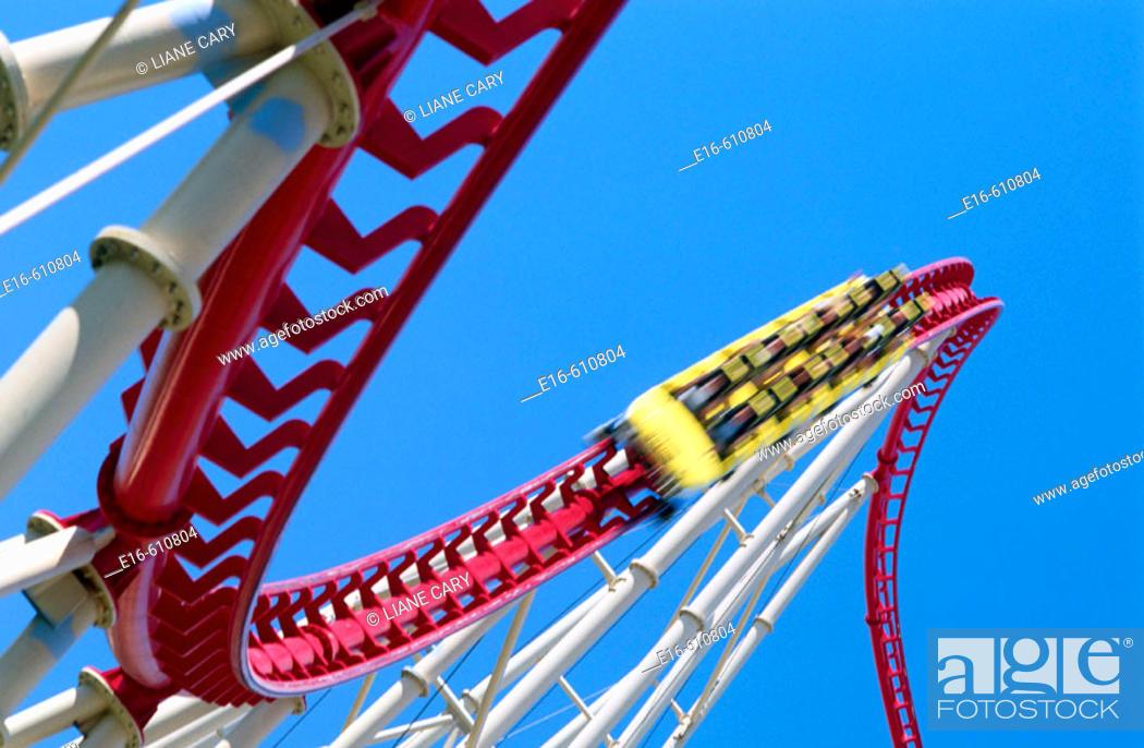 Stock Photo: Las Vegas rollercoaster.