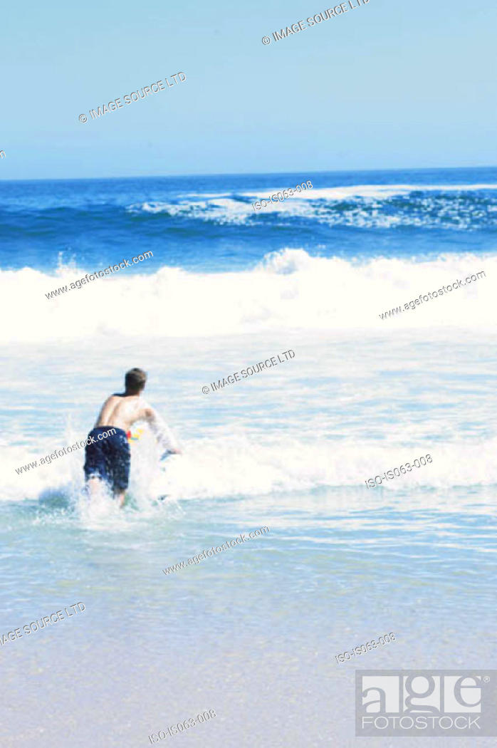 Stock Photo: Surfing.