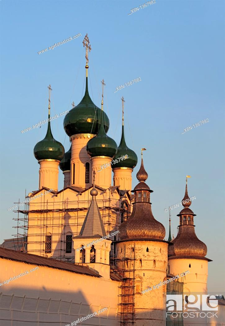 Stock Photo: Rostov, Yaroslavl region, Russia.