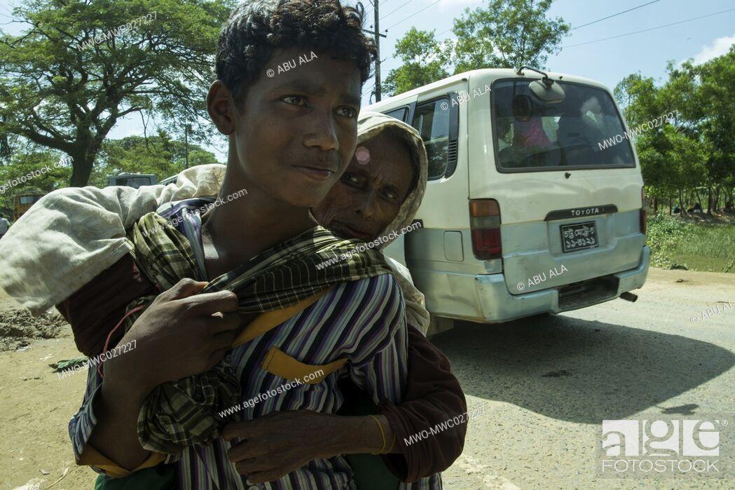 Imagen: Rohingya Refugee at Balukhali near Bangladesh-Myanmar border, Ukhia, Cox's Bazar, Bangladesh.