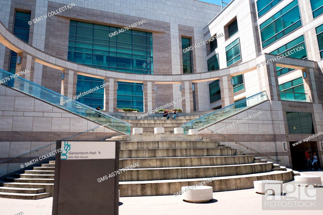 Genentech Hall on the Mission Bay campus of University of California