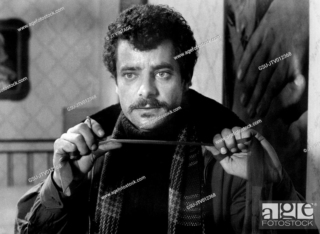 Stock Photo: Giancarlo Giannini, Publicity Portrait for the Film, The Pizza Triangle aka I Did It!, Warner Bros., 1970.