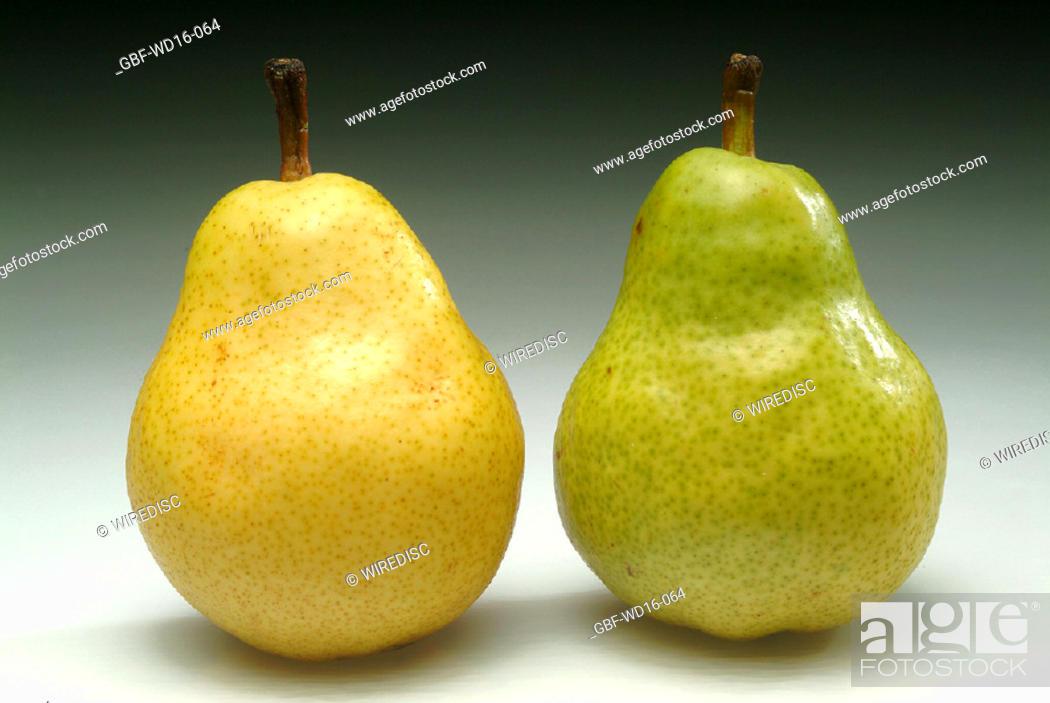 Stock Photo: Food, fruit, pear.