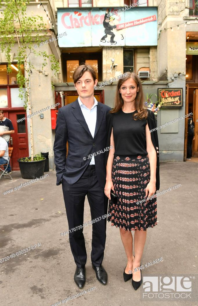 British Actor Sam Riley And His Wife German Actress Alexandra Maria