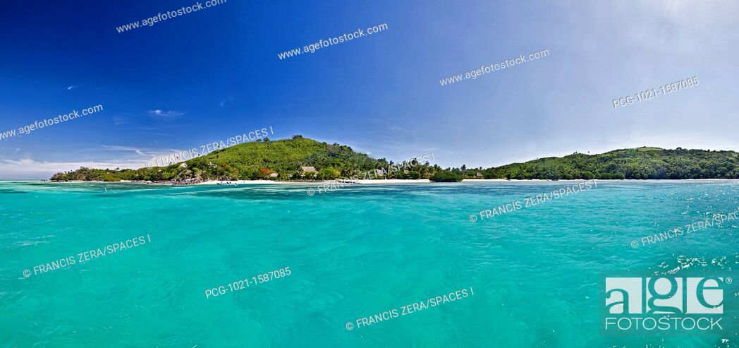 Stock Photo: Bay In Tropical Island.