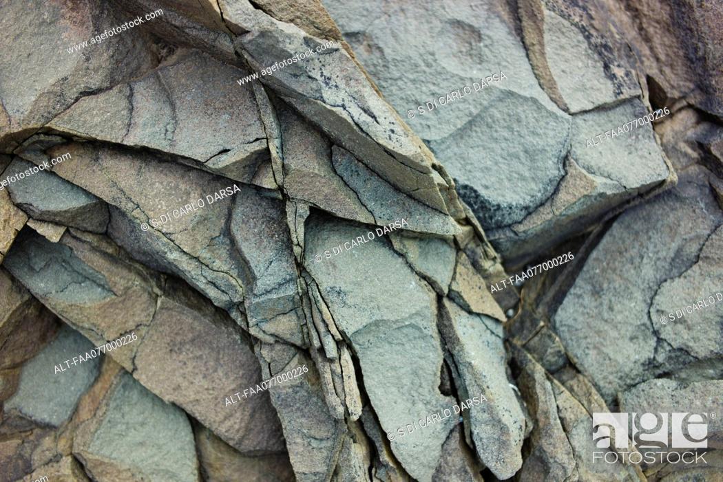 Stock Photo: Volcanic rock, close-up.