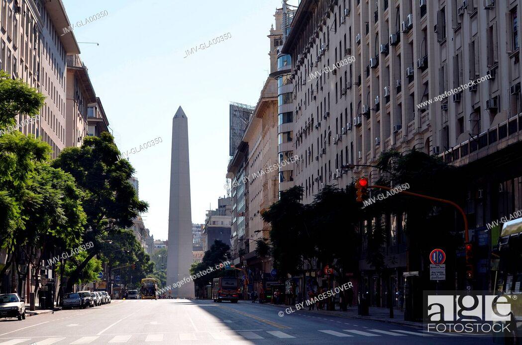 Imagen: Obelisco, Buenos Aires, Argentina.