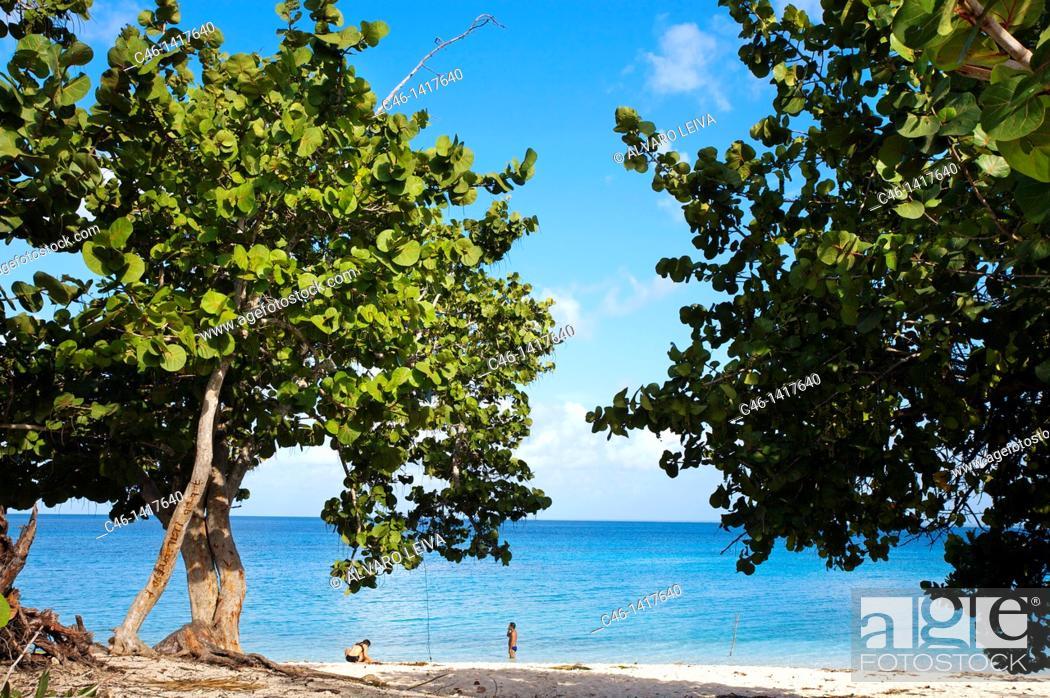 Stock Photo: Maria la Gorda beach, Pinar del Río province, Cuba.