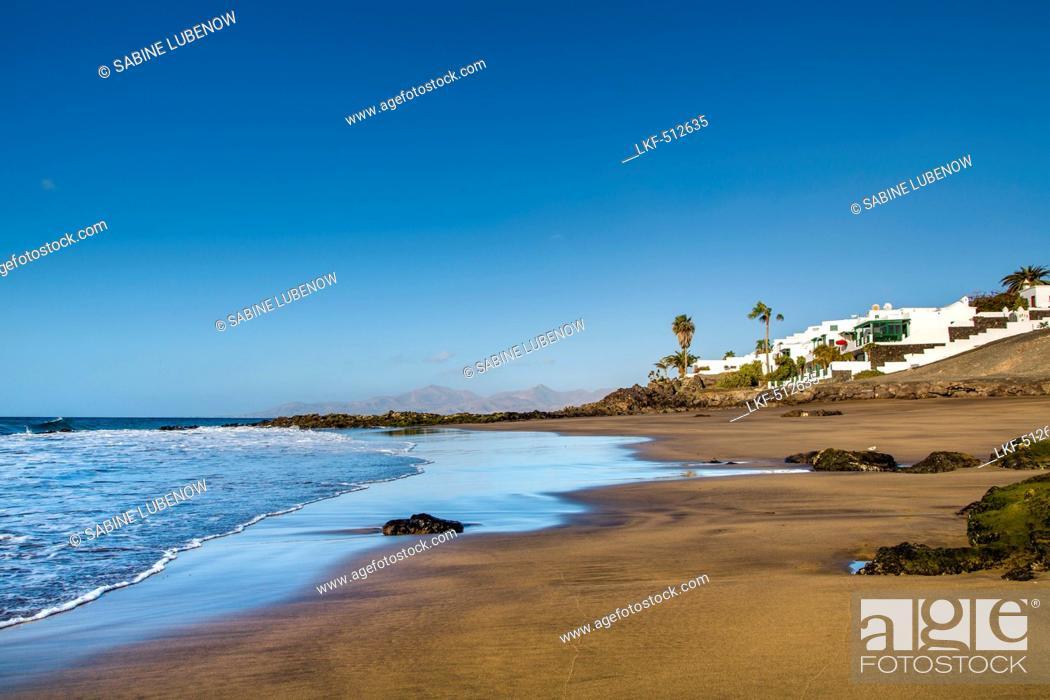 Beach At Playa Del Barranquillo Puerto Del Carmen