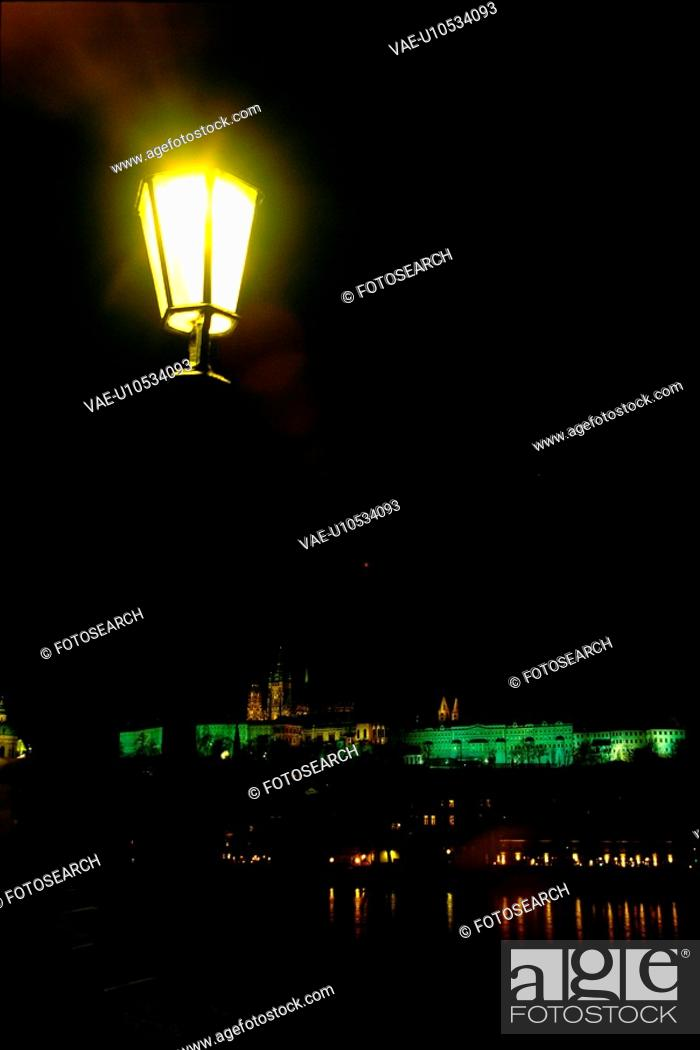 Stock Photo: building, scene, prague, Czech, Europe, tourist resort.
