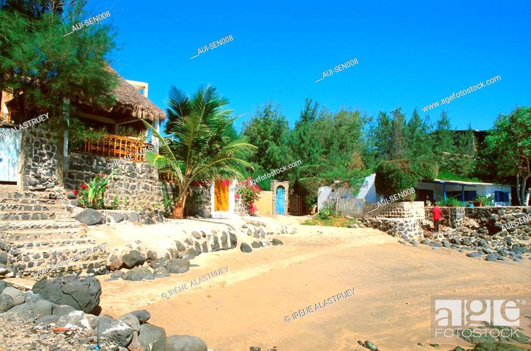 Stock Photo: Senegal - La Presqu'ile du Cap-Vert - ele de N'Gor.