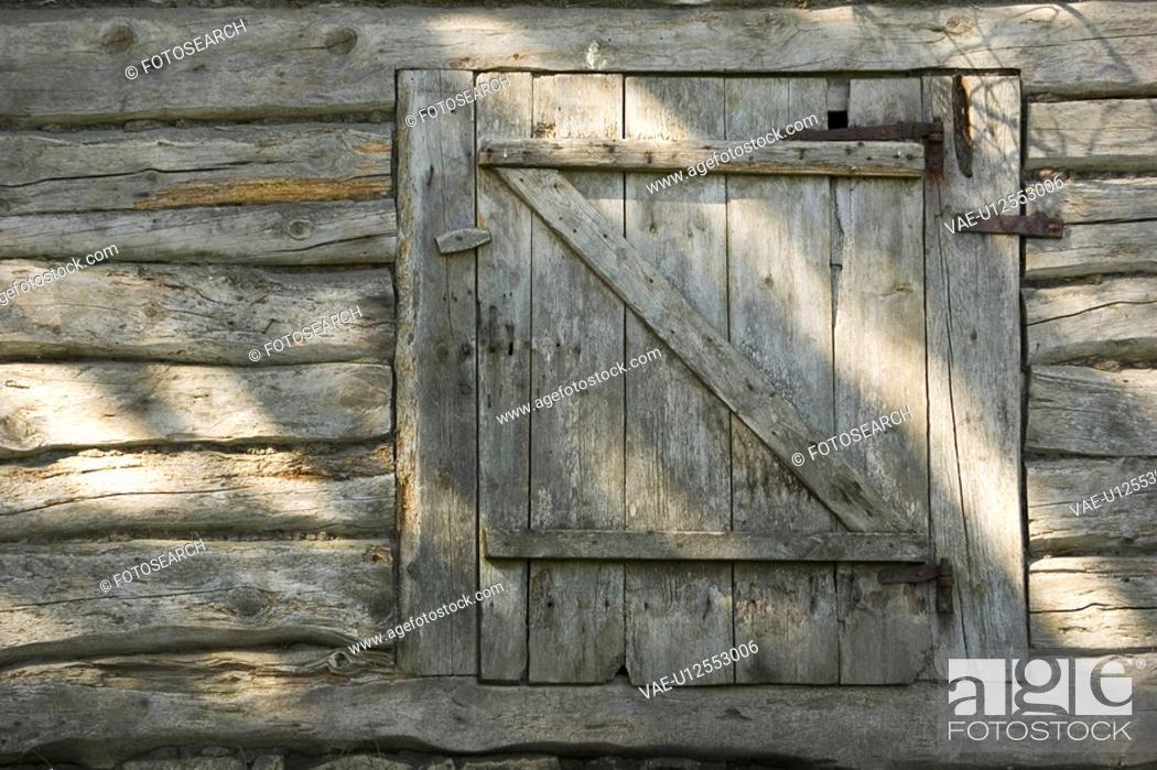 Stock Photo: Brown, Surface, Timber, Close-Up.