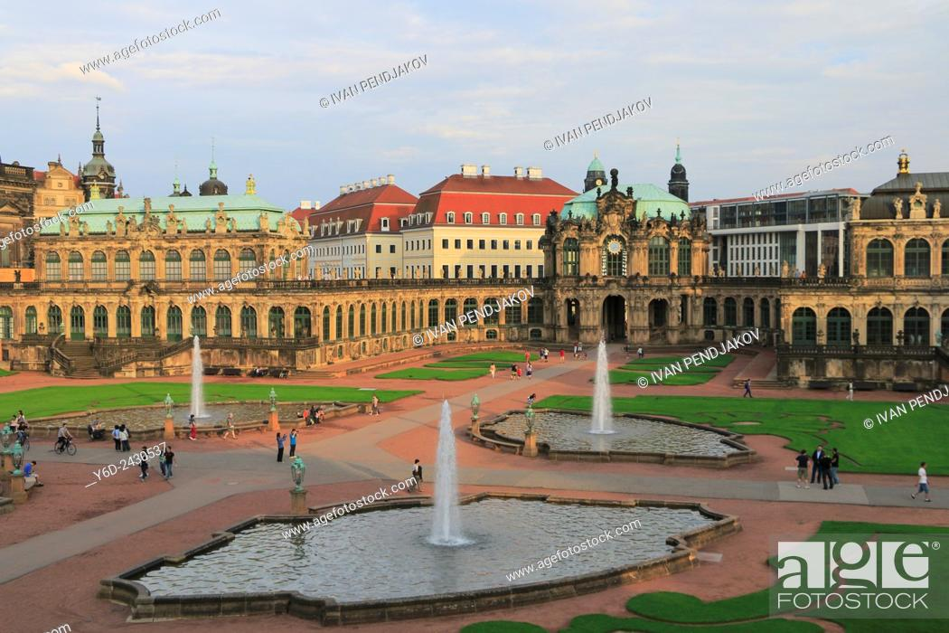 Imagen: Zwinger Palace, Dresden, Germany.