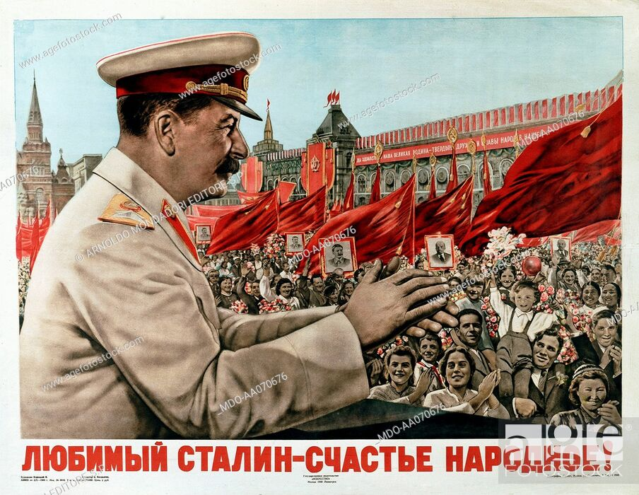 Imagen: Hagiographic image of Stalin, 1949, 20th Century.