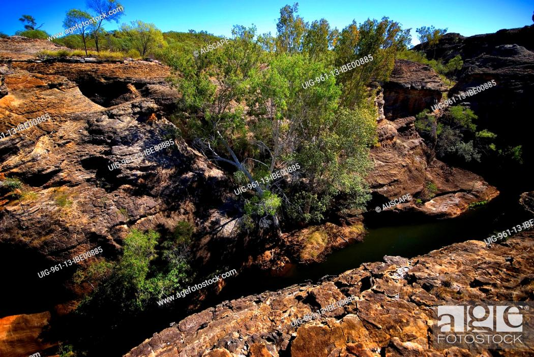 Stock Photo: Cobbold Gorge, Robin Hood Station, near Georgetown, Gulf Savannah, Queensland, Australia.