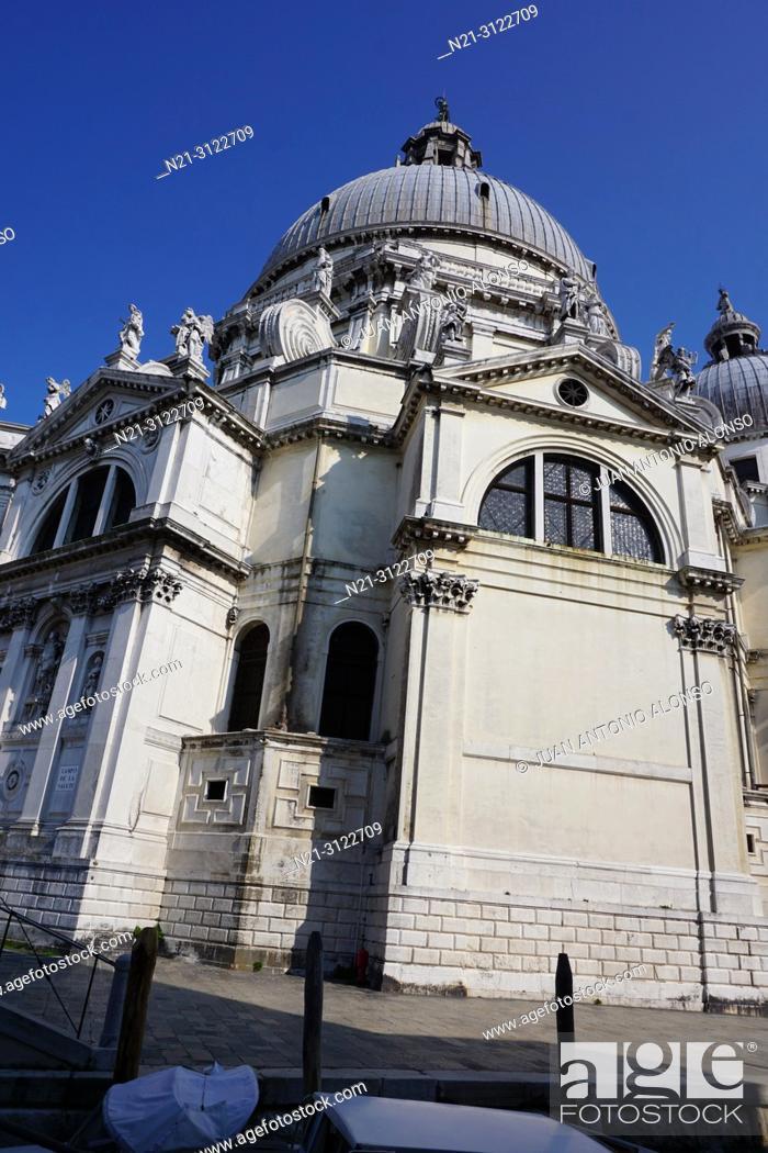 Imagen: Santa Maria della Salute. Dorsoduro. Venice, Veneto, Italy, Europe.