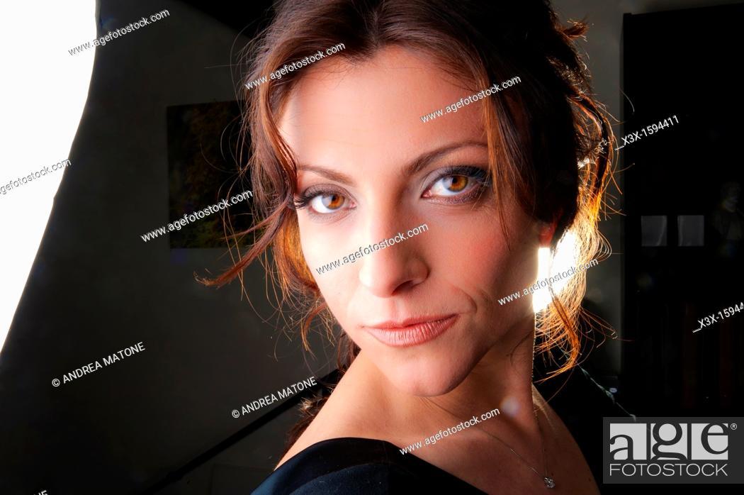 Stock Photo: Woman portrait.