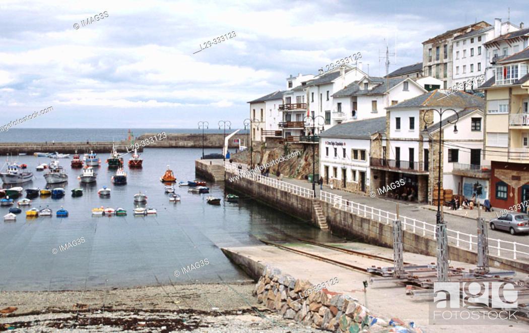 Stock Photo: Tapia de Casariego. Asturias, Spain.