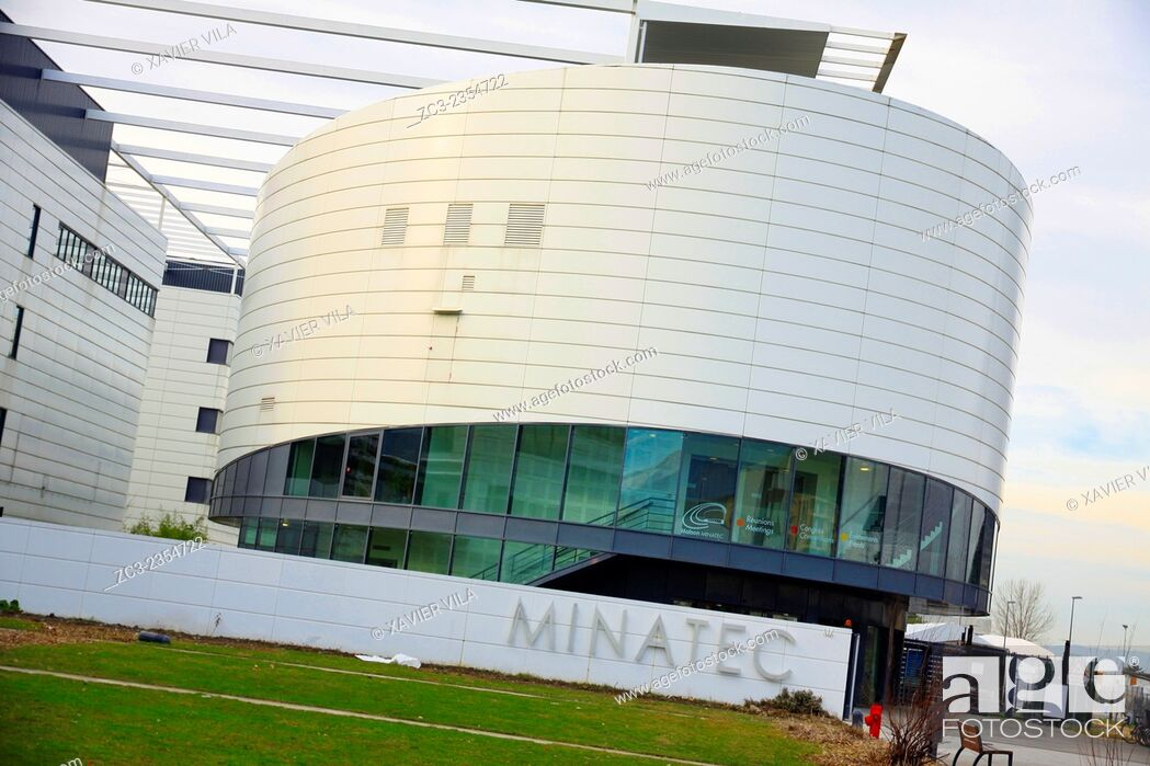 Stock Photo: MINATEC (MIcro- and NAno-TEchnologies) campus is a unique center of innovation in Europe and better international standing in the field of micro and.