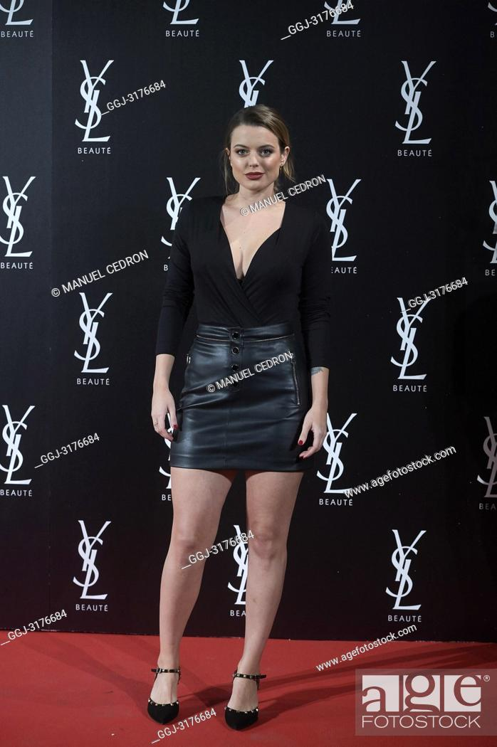 d83e836ccde Stock Photo - Adriana Torrebejano attends The Slim Rouge PurCouture Yves  Saint Laurent presentation Party at Palacio de Santona on November 6, ...