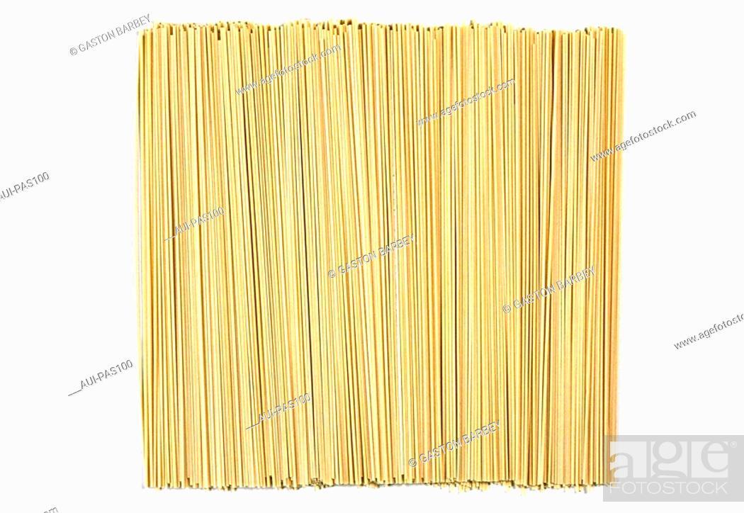Stock Photo: Pasta - Fresh Egg Noodles.