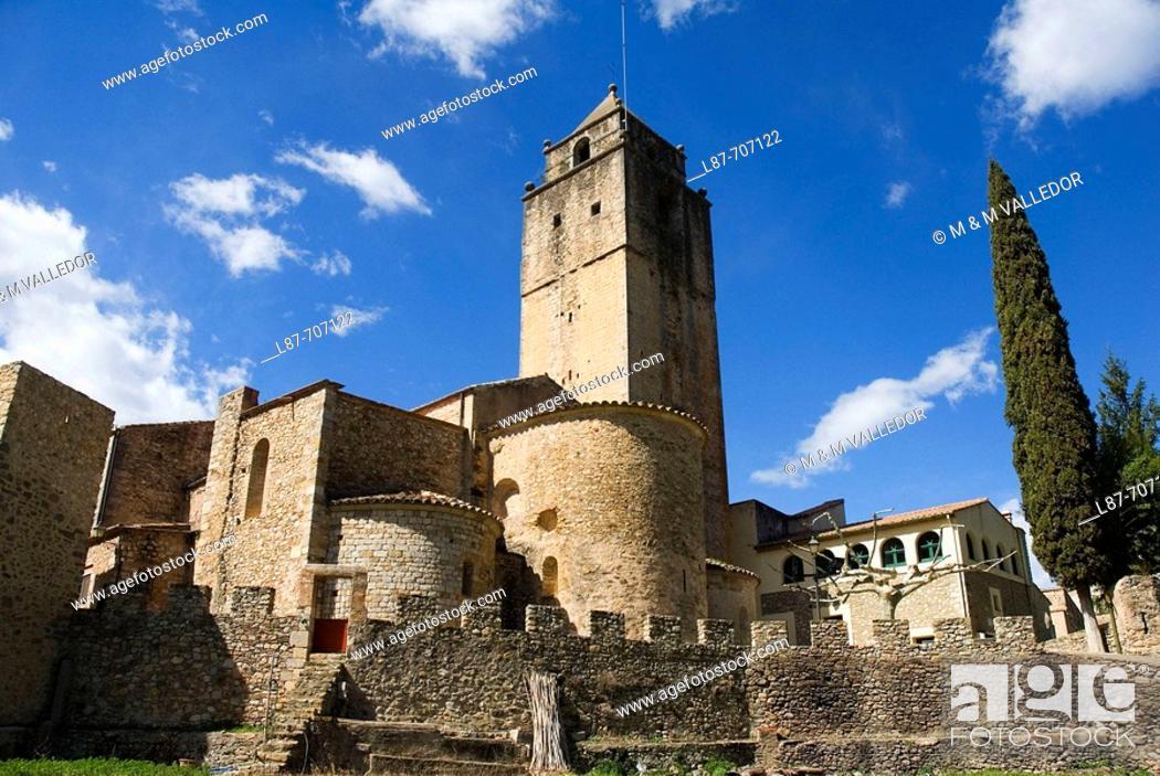 Stock Photo: Sant Llorenç de la Muga. Alt Emporda. Girona province. Catalonia. Spain.