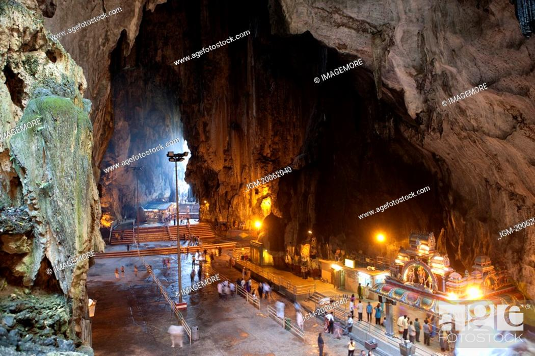 Stock Photo: Malaysia, Kuala Lumpur, Batu Cave.