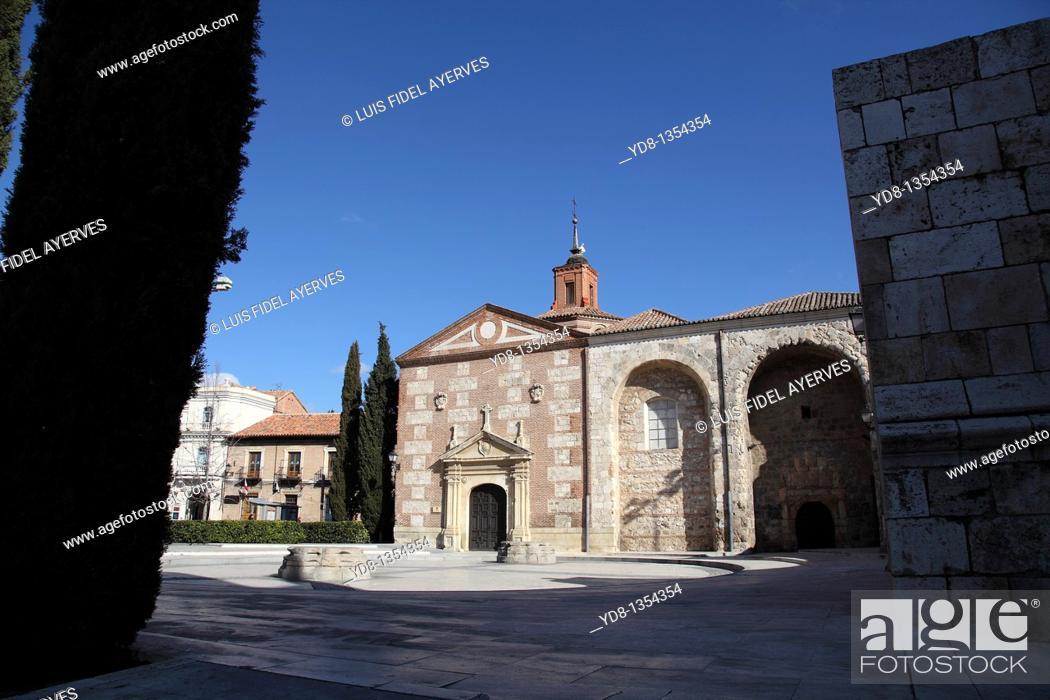 Stock Photo: CAPILLA OIDOR, Alcala de Henares, Madrid, Spain.