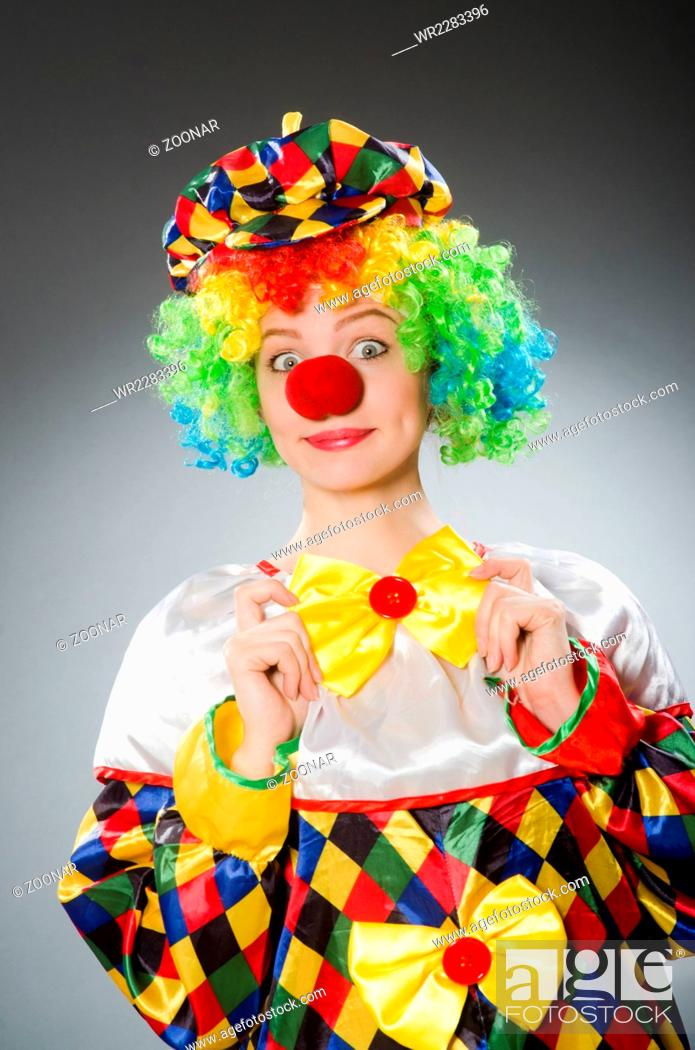 Imagen: Clown in the funny concept.