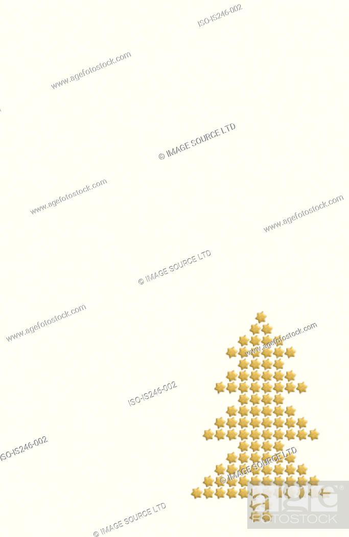 Stock Photo: Christmas tree pattern.