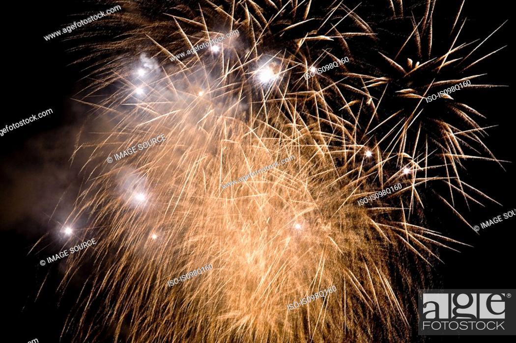 Photo de stock: Firework display.