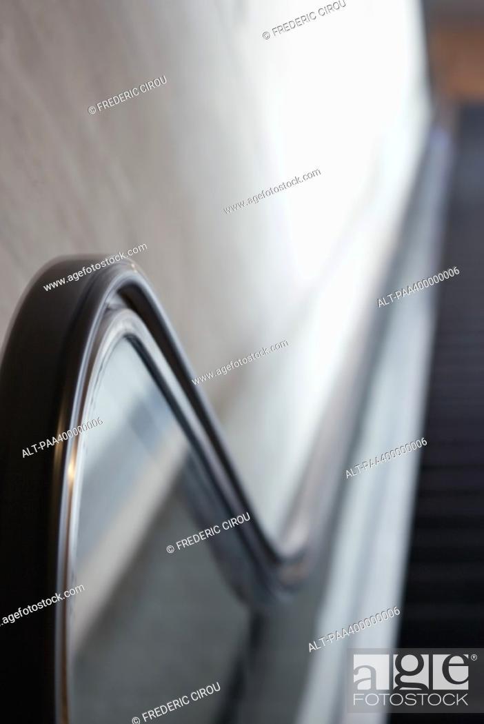 Stock Photo: Escalator.