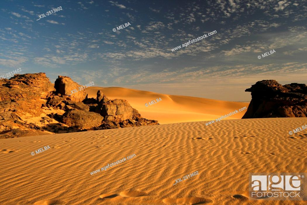 Photo de stock: Tahaggart. Tassili Ahaggar. Sahara desert. Algeria.