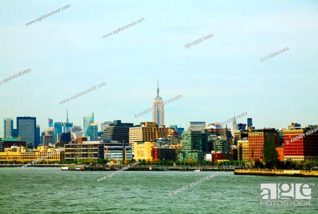 Stock Photo: New York City cityscape.