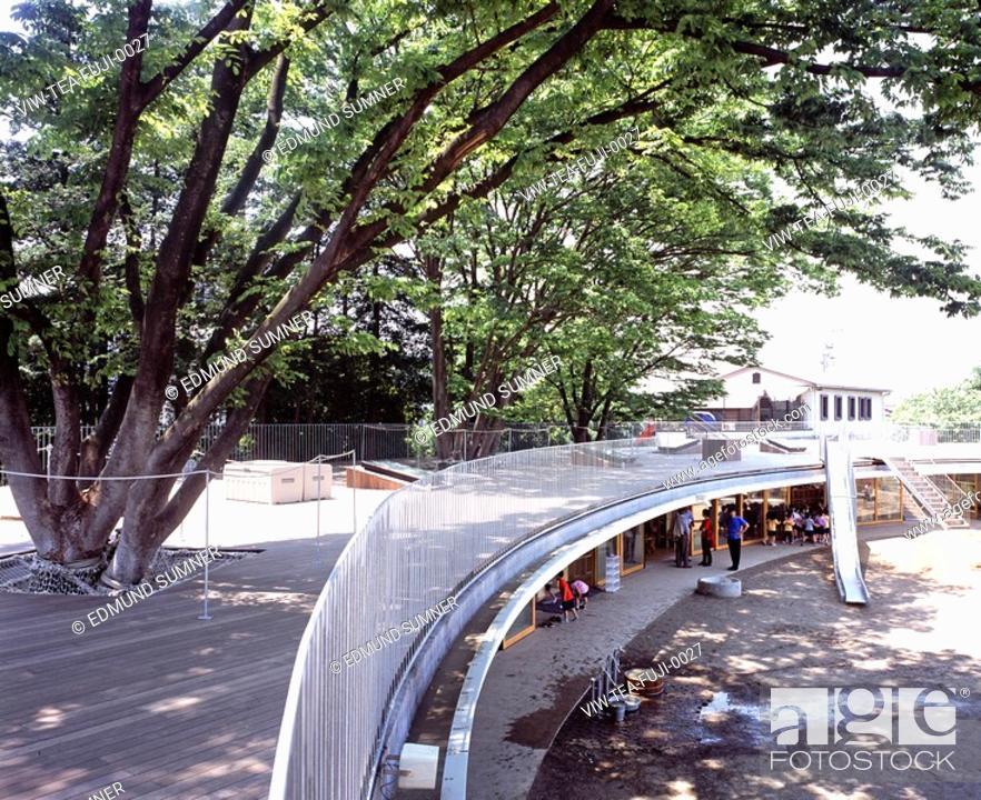 Kinder Garden: FUJI KINDERGARTEN, TOKYO, JAPAN, Architect TEZUKA