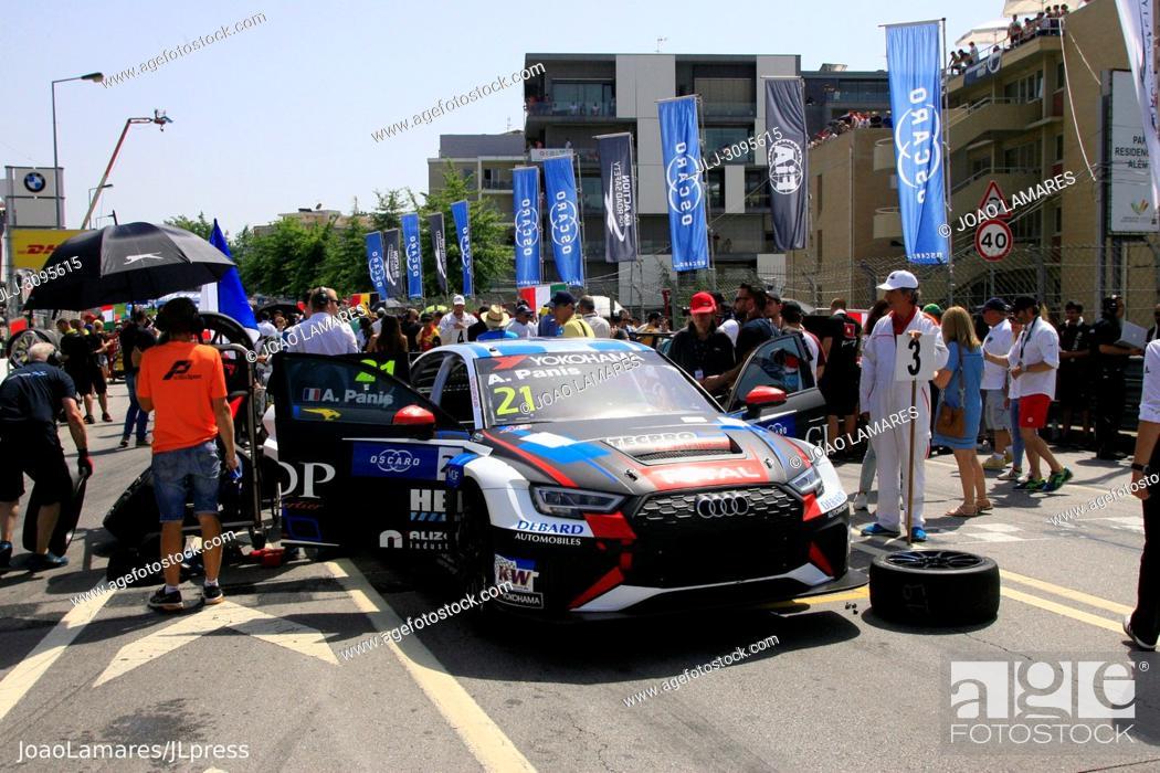 Stock Photo: A. Panis, Audi RS3 LMS #21, WTCR Race of Portugal, Vila Real 23-25 de June 2018.