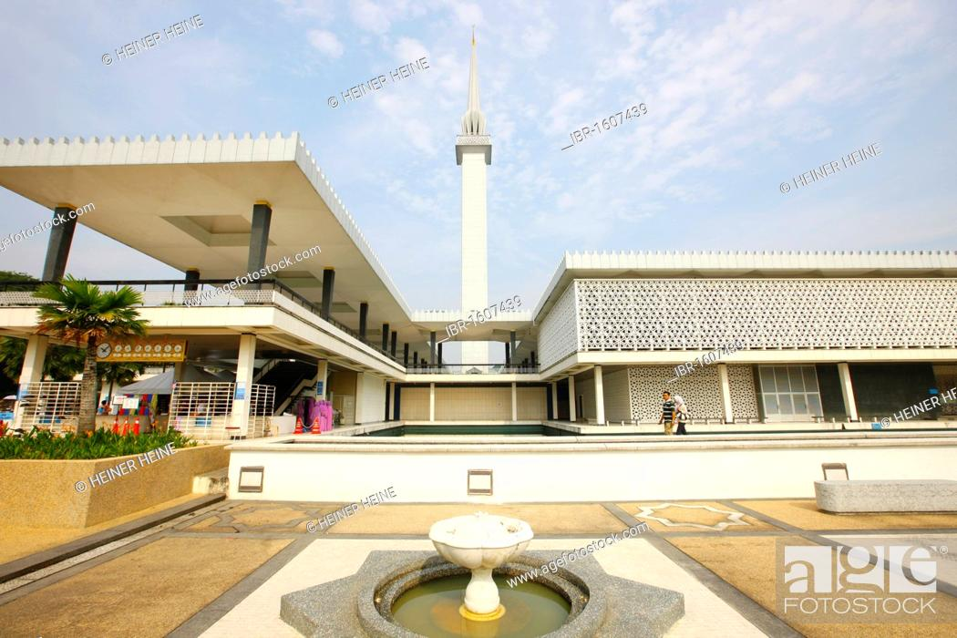 Masjid Negara Mosque, national mosque of Malaysia, Kuala