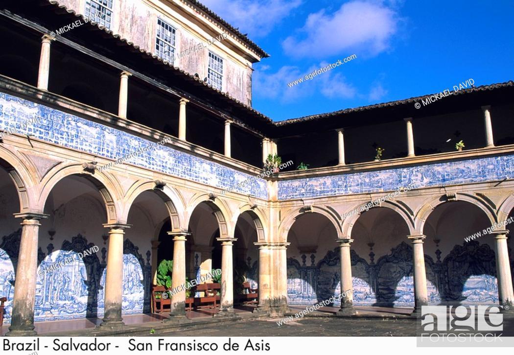 Stock Photo: Brazil - Salvador - San Fransisco de Asis.