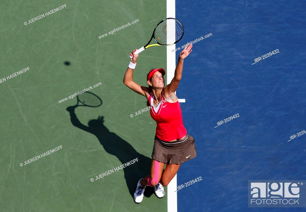 Julia Goerges Ger Itf Grand Slam Tennis Tournament U S Stock