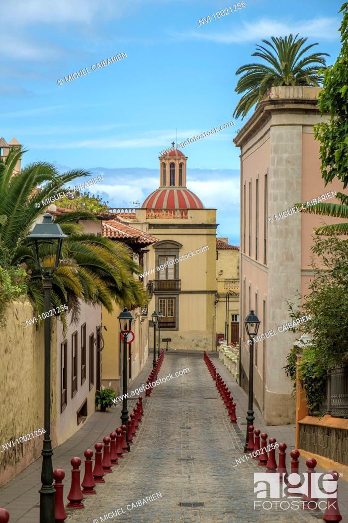 Stock Photo: La Orotava, Tenerife, Spain.