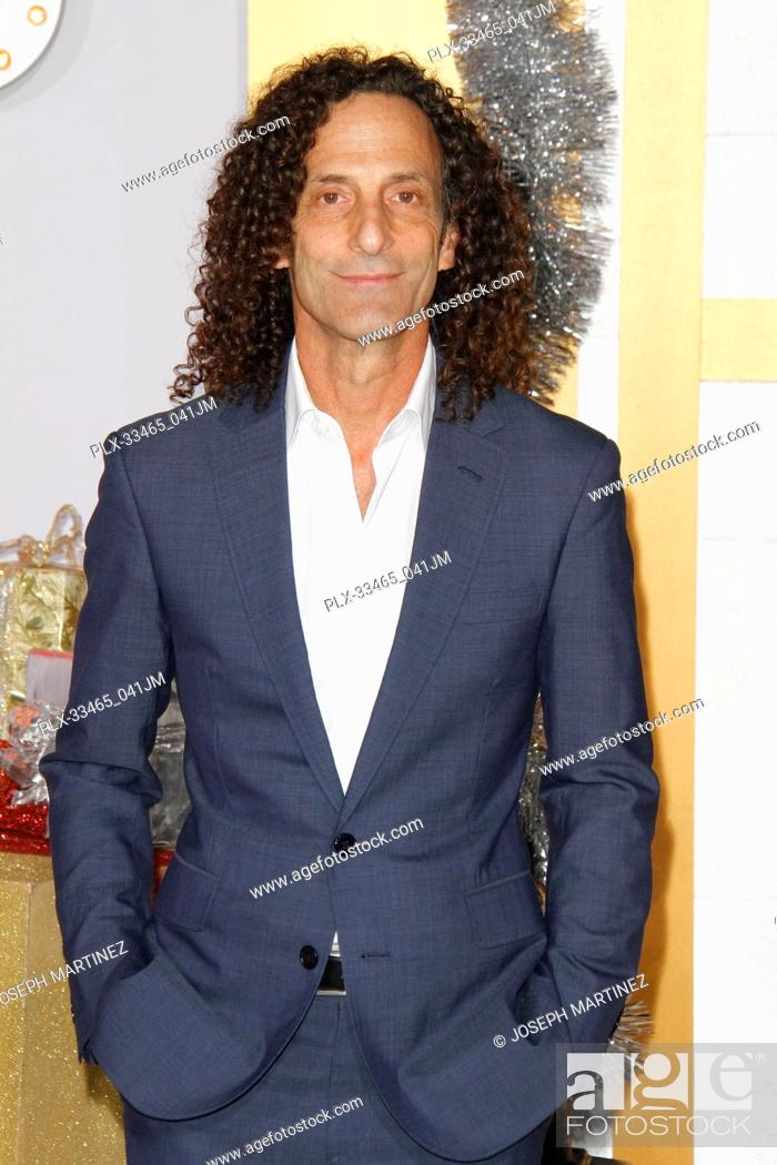Kenny G at the Premiere of STX Films\' \