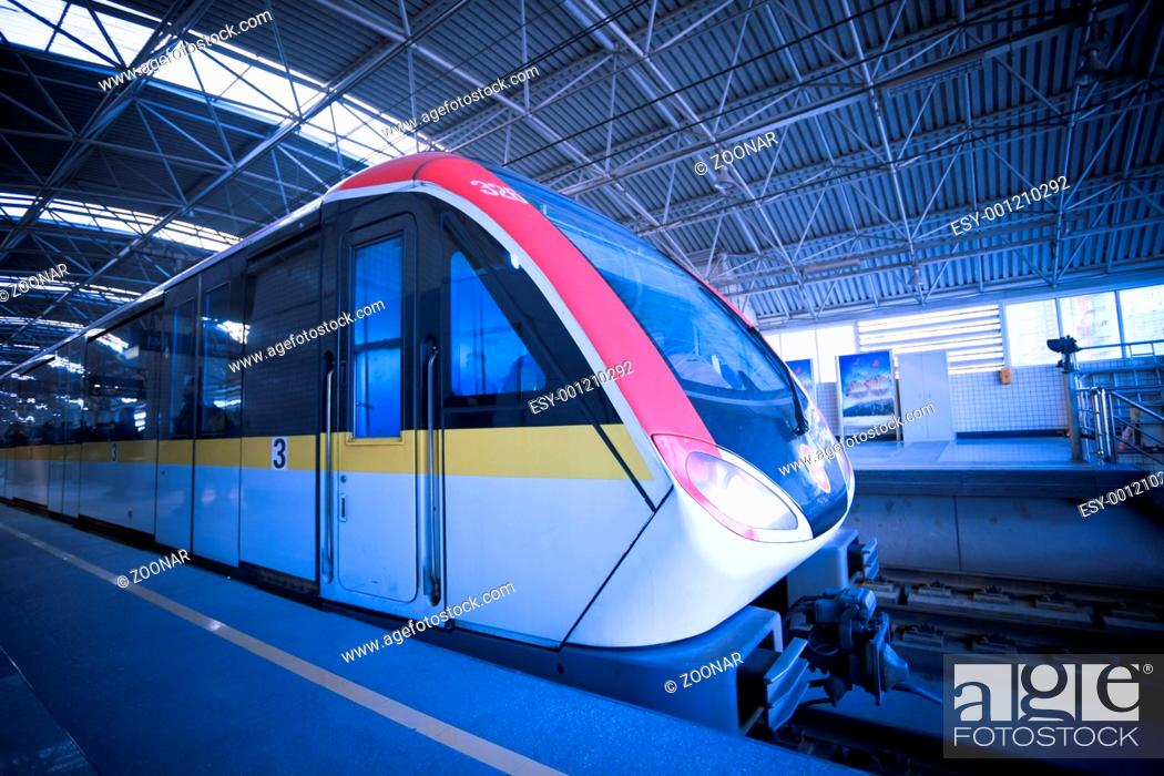 Stock Photo: train.