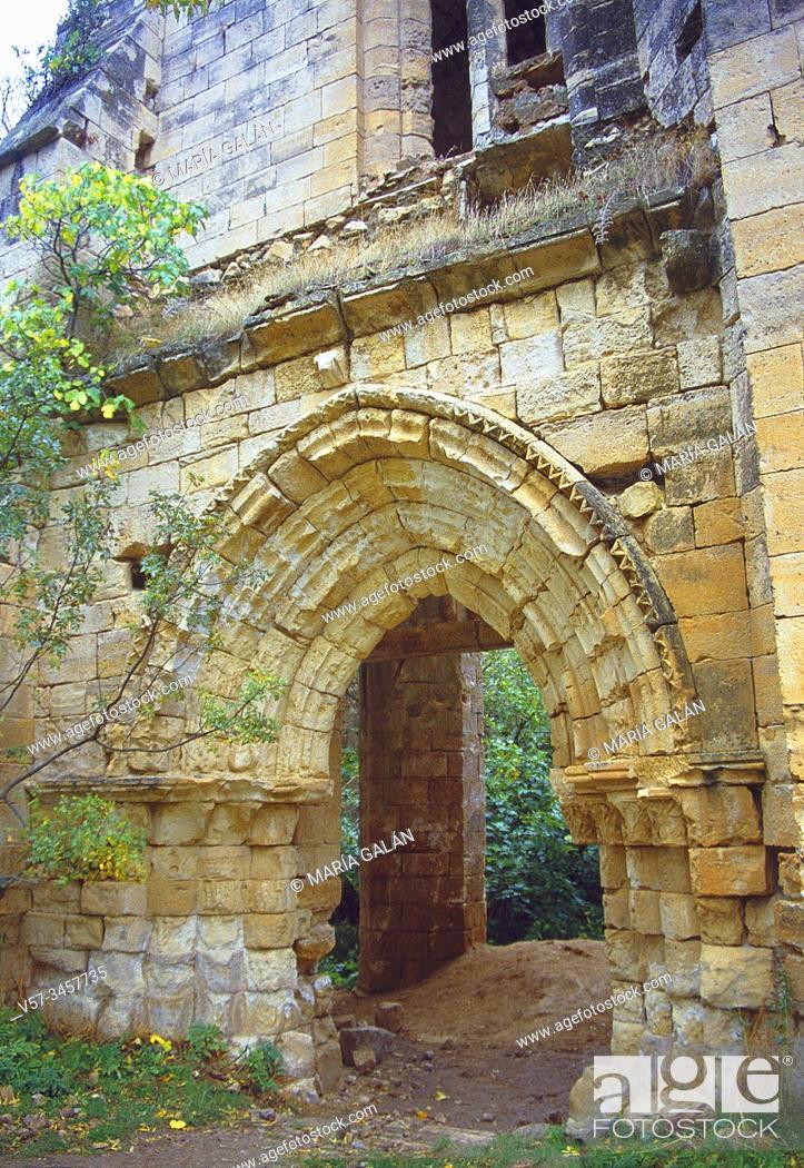 Imagen: Ruins of Bonaval monastery. Retiendas, Guadalajara province, Castilla La Mancha, Spain.