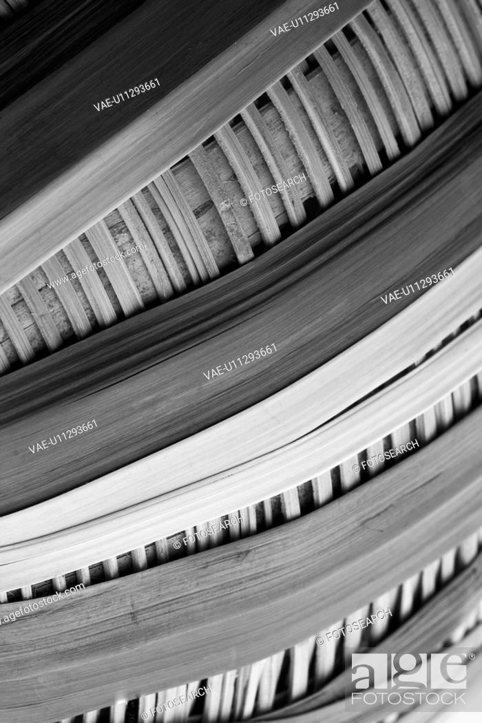Stock Photo: brushes, brush, strands, hairs, bristles, buckets.