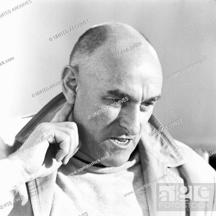 Imagen: Der deutsche Synchronsprecher und Schauspieler Benno Hoffmann, Deutschland 1968. The German actor Benno Hoffmann, Germany 1968.