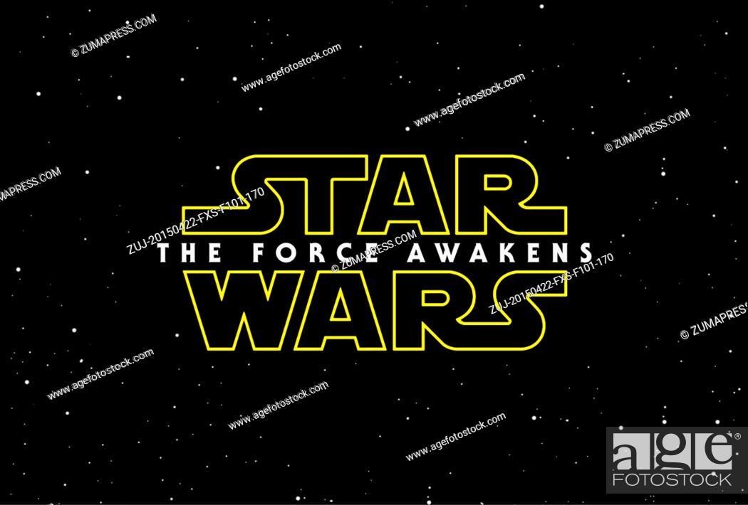 Stock Photo: April 22, 2015 - Hollywood, USA - STAR WARS: EPISODE VII - THE FORCE AWAKENS (2015).J.J. ABRAMS (DIR).