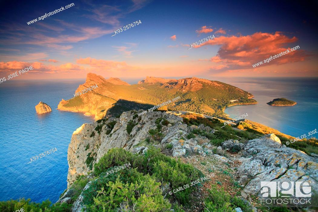 Stock Photo: Península de Formentor, Mallorca, Balearic Islands, Spain.