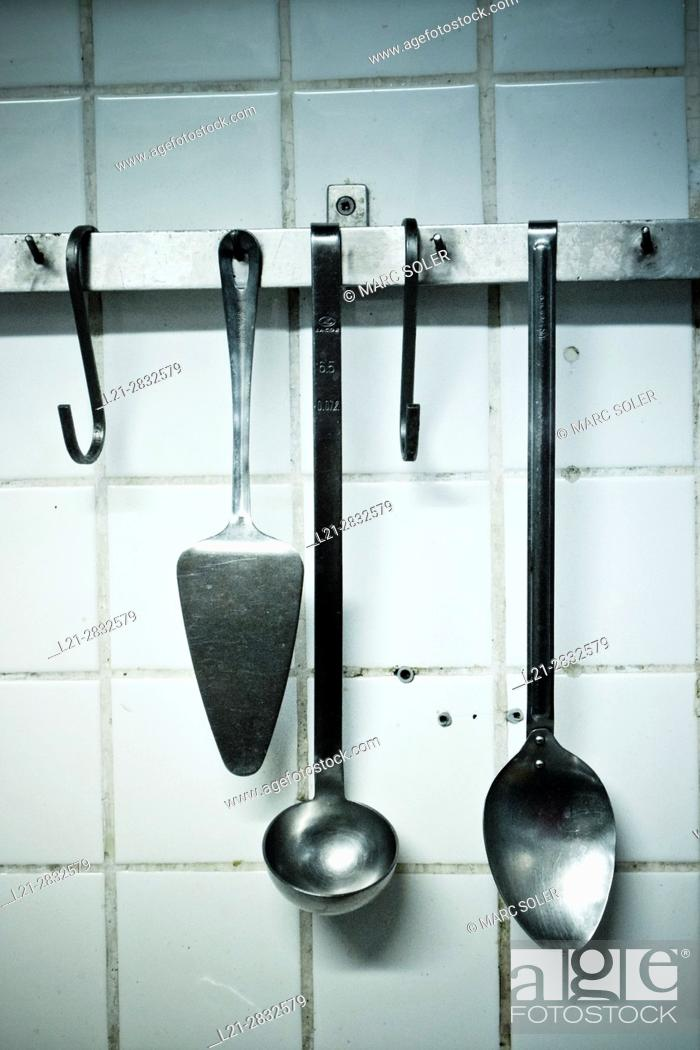 Photo de stock: Kitchen tools.